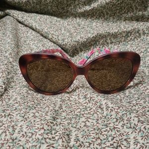 Lilly Pulitzer Janice Polarized Sunglasses OS